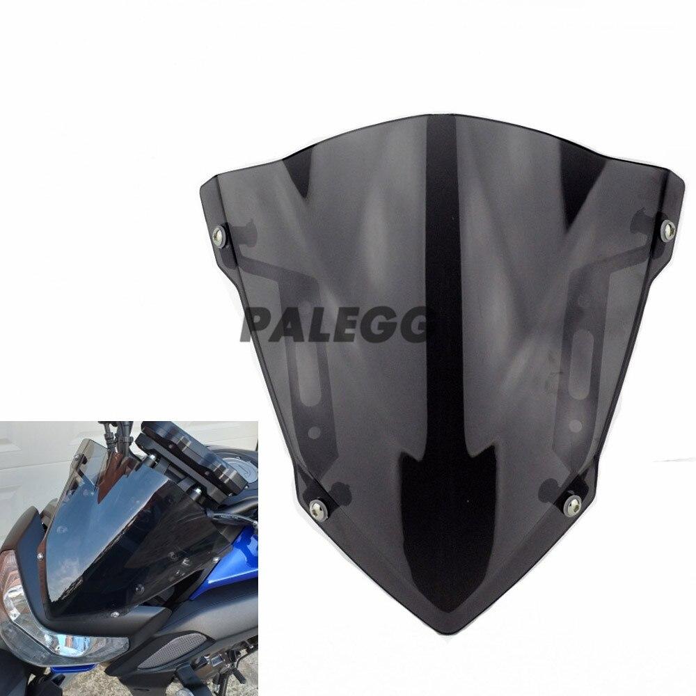 Parabrisas Deflector de aire de motocicleta para Yamaha MT-07 FZ-07 FZ07 MT07 FZ MT 07 2018 2019 2020 Pantalla de viento