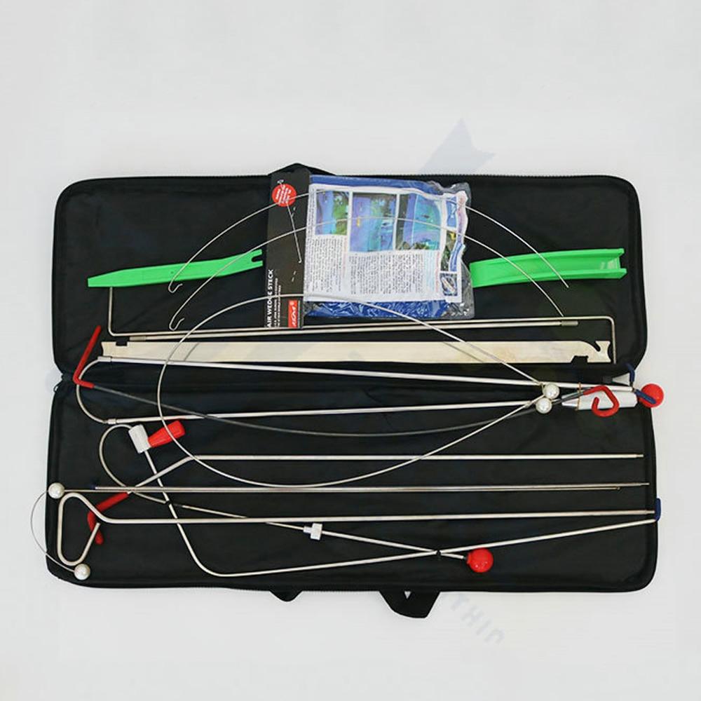 مفتاح فتح باب السيارة العالمي ، مجموعة أدوات الأقفال ، إصلاح الطوارئ ، مضخة الهواء