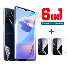 6 in 1 Hydrogel film for Oppo A16 6.52 inch lens protection glass on for Oppo A 16 appo A16 CPH2269