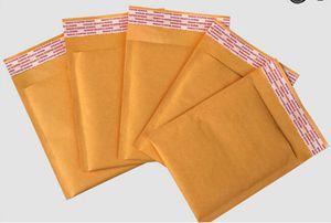100 шт./лот конверты с пузырьками, мягкие конверты, упаковочные пакеты для доставки, крафт Пузырьковые конверты для почтовых отправлений (110*130...