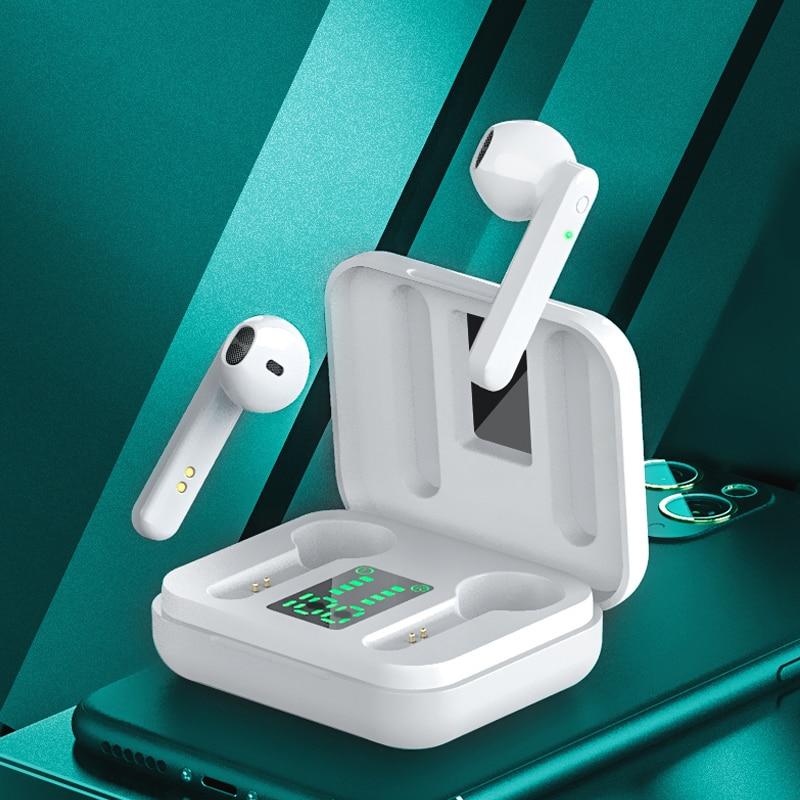 سماعات بلوتوث TWS صغيرة 5.1 سماعات لاسلكية Hifi ستيريو رياضية مقاومة للماء سماعات لاسلكية مع ميكروفون