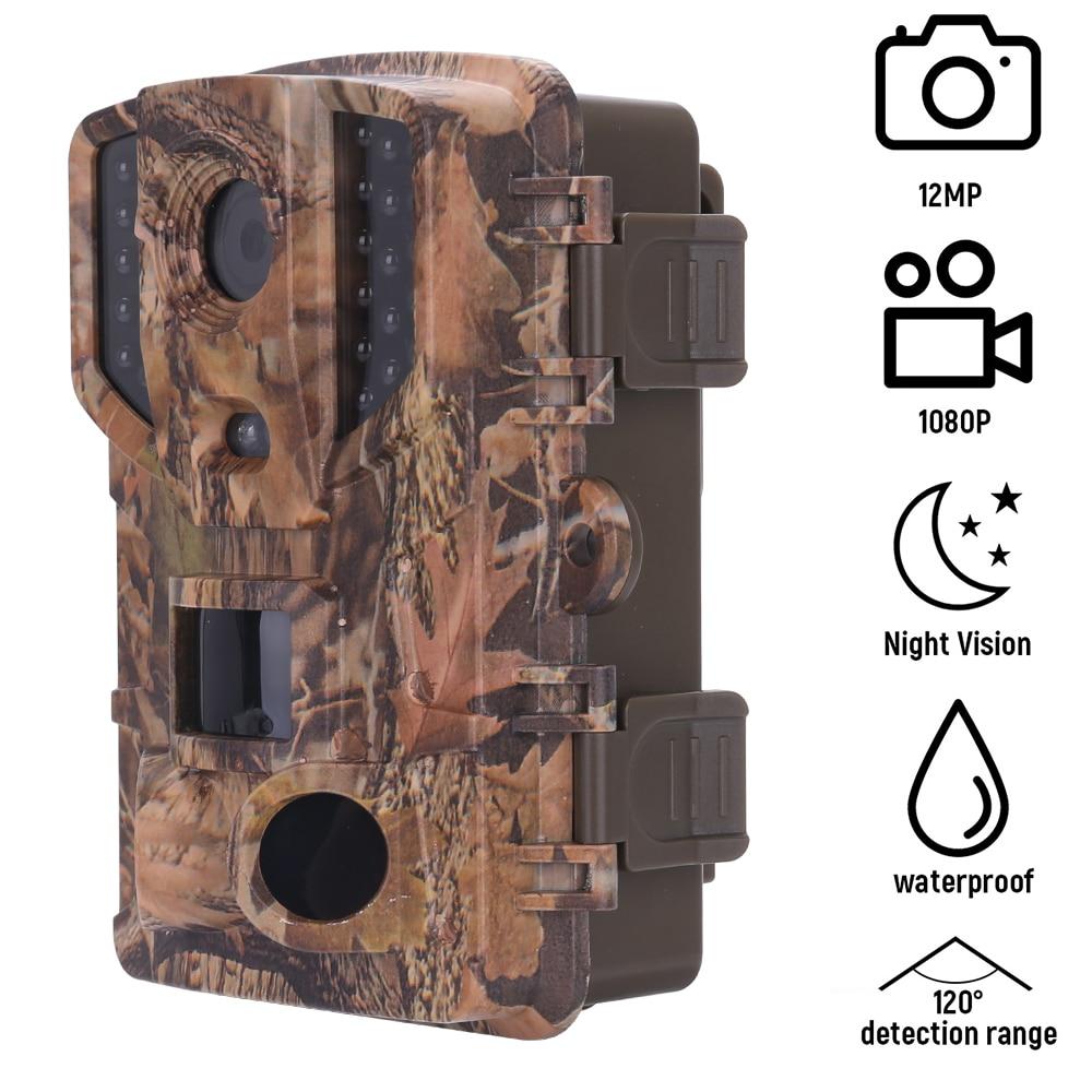 20MP 1080P الصيد كاميرا تعقب الحياة البرية كاميرا مع للرؤية الليلية الحركة المنشط في الهواء الطلق كاميرا الزناد الحياة البرية الكشافة