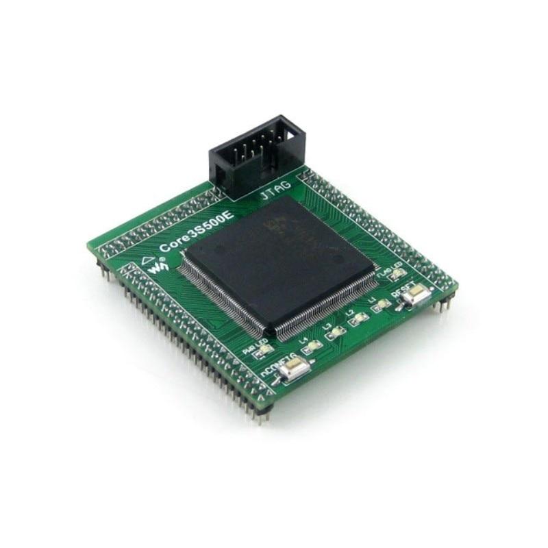 XILINX FPGA XC3S500E Spartan-3E Evaluation Development Core Board + XCF04S FLASH Support JTAG= Core3S500E
