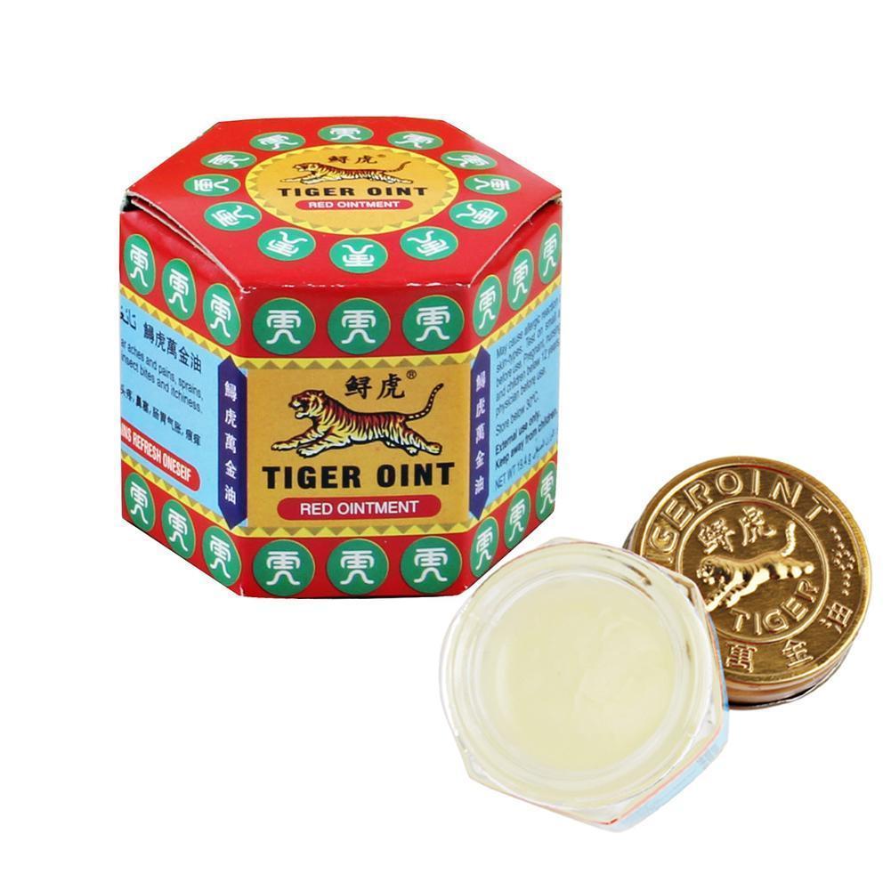 Aceite refrescante de verano chino Tigre bálsamo rojo refrescarse aceite relajante tratamiento de frío esencial para el dolor de cabeza de la gripe O5A2