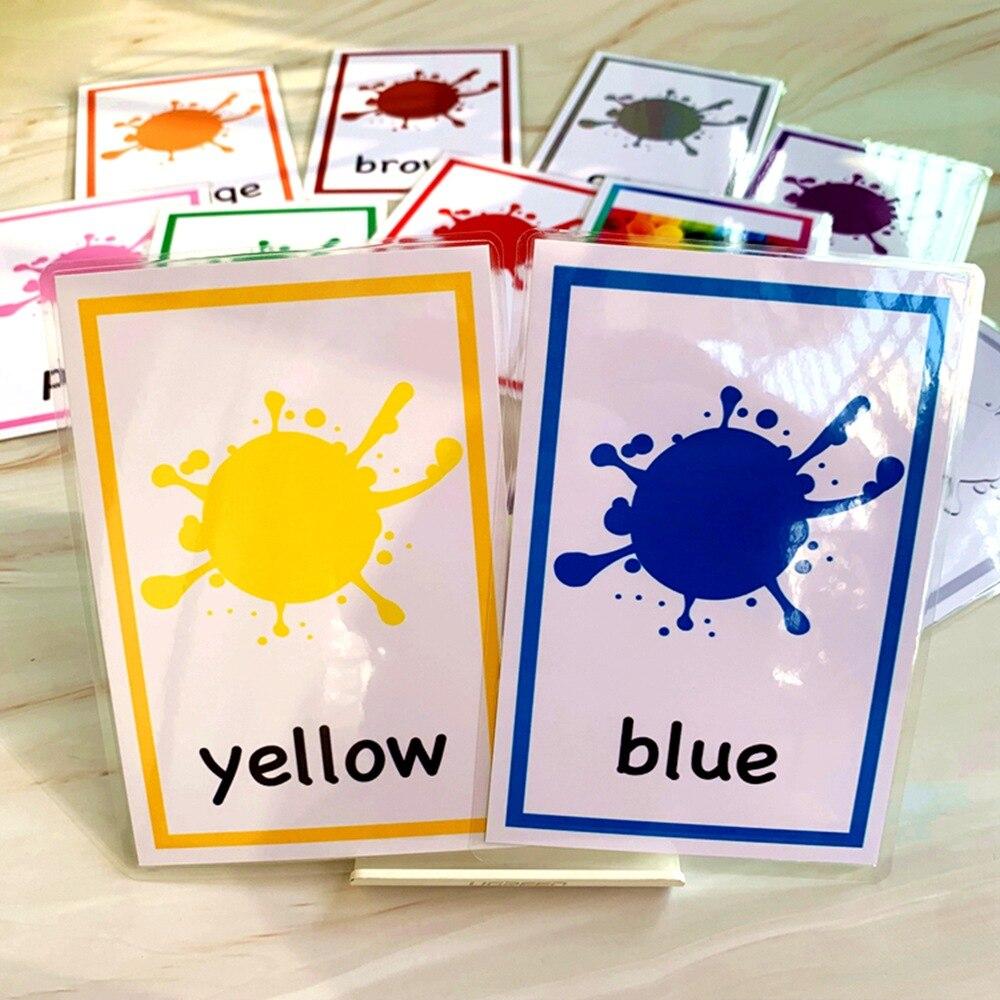 Tarjetas cognitivas Montessori para bebé, 12 Uds., tarjetas Flash de tráfico para niños, Juguetes educativos de Aprendizaje Temprano
