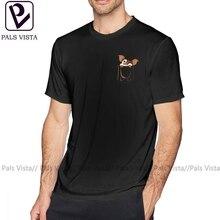 Gizmo T Shirt Gizmo Pocket T-Shirt 6xl Male Tee Shirt 100 Percent Cotton Basic Fun Short Sleeves Printed Tshirt