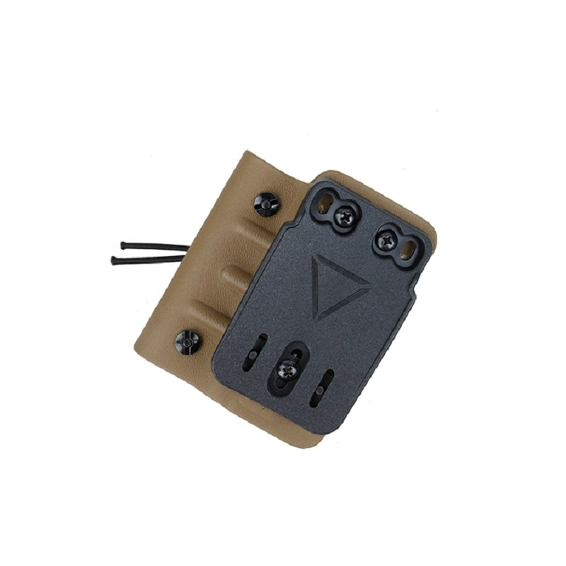TMC-WT-870BC tático novo clipe de cinto montagem w & t kydex coldre para tm m870 breacher bk/de