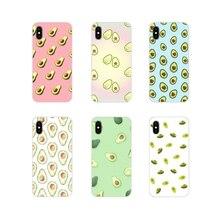 Accessories Phone Shell Covers Cute cartoon avocado For Huawei Honor 4C 5C 6X 7 7A 7C 8 9 10 8C 8S 8X 9X 10I 20 Lite Pro