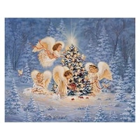 5d diy full diamond diamond painting diamond embroidered christmas tree and angel mosaic furniture christmas gift painting