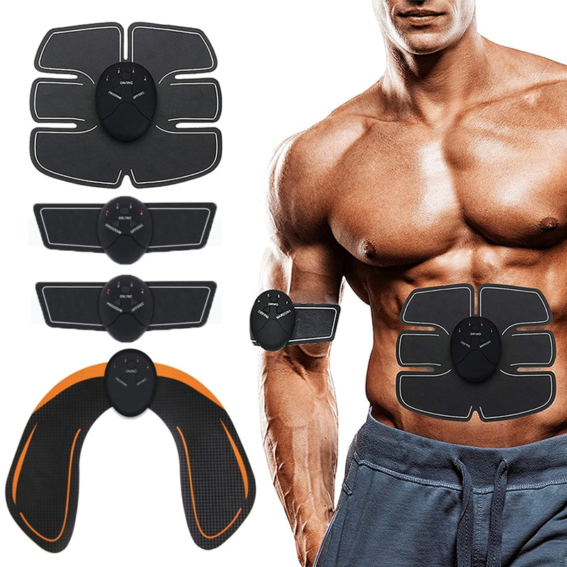 Abdominal Muscle Stimulator EMS Hip Trainer Toner Body Slimming Massager Machine Weight Loss Home Fitness Equipment Dropshipping