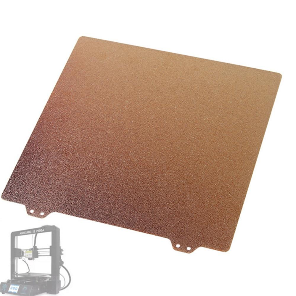 Lámina de acero PEI con textura de doble cara, placa recubierta de polvo de 220MM para accesorios de impresora Prusa I3 MK3 3D