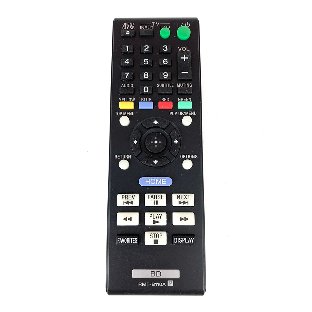 Reproductor de DVD para SONY RMT-B110A Blu-Ray, mando a distancia BDPBX38 BDPBX58...