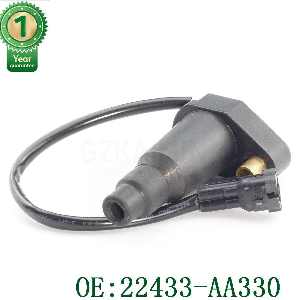 Compatible con SUBARU Impreza EJ20G 2.0L WRX GC 2.0L Turbo Pack de bobina de encendido, OEM 22433AA330 22433-AA330