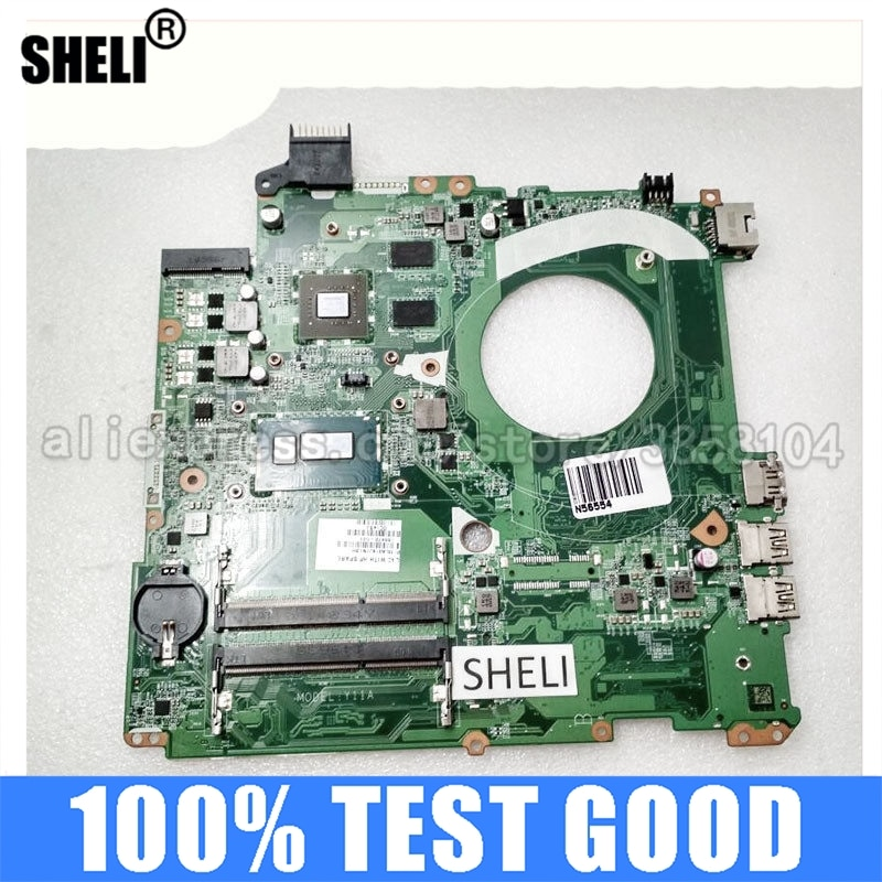 For HP 15 15-P Laptop Motherboard DAY11AMB6E0 766472-001 766472-501 i7-4510U DDR3 GT 840M 2GB notebook pc mainboard test ok