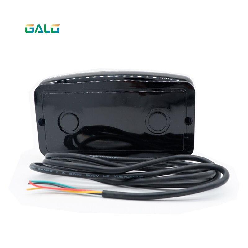 Уличный водонепроницаемый ИК-радар, автомобильный детектор, барьер, чувствительный контроллер, замена петлевого детектора, автомобильный ...