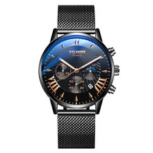 2021 New Cool Watch Male Student Chronograph Quartz Watch Luminous Waterproof Multifunctional Men Fa