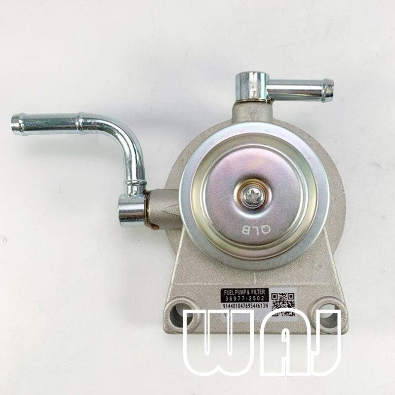 Bomba de primer 23301-17030 do filtro de combustível diesel de waj se encaixa para o cruzador hdj80 hdj81 da terra de toyota