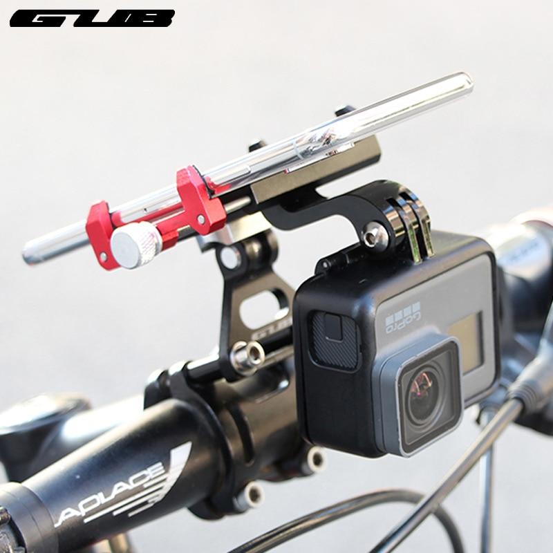 GUB алюминиевый сплав велосипедов мобильный телефон кронштейн MTB дорожный мотоцикл руль кронштейн для спортивной камеры навигации регулиру...