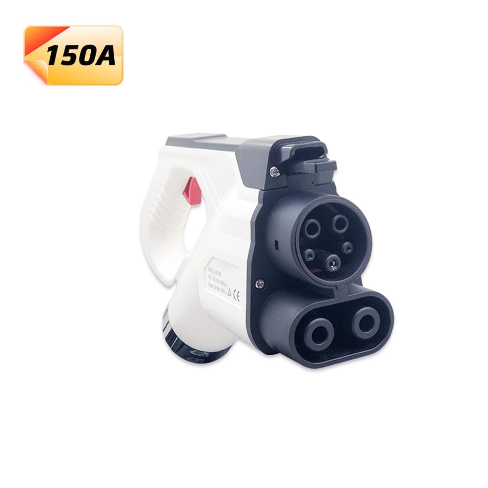 Duosida tipo 1 ccs combo 1 conector ev carregador dc carregamento rápido eua 150amp sae j1772 plug veículos elétricos carro