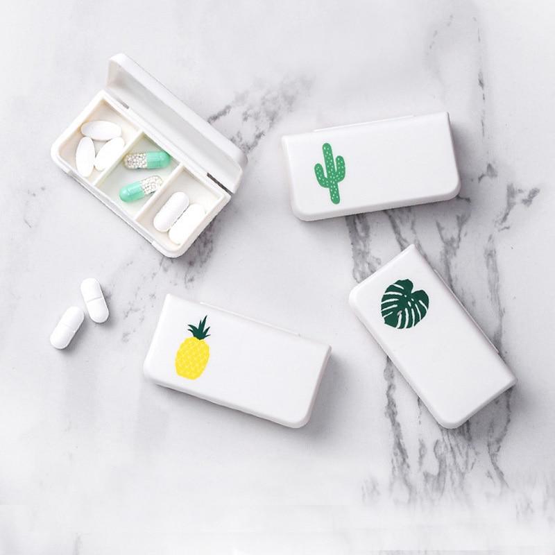 Mini Square Plastic Travel Packing Organizers Mini Organizer Case Carry Storage Travel Accessories