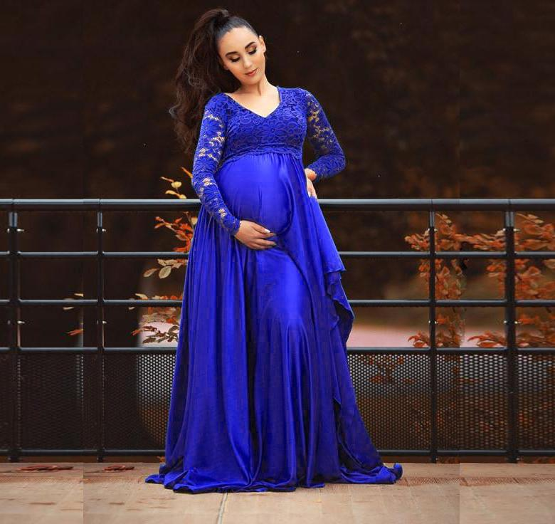 Maternity Dresses For Photo Shoot Chiffon Pregnancy Dress Photography Props Maxi Gown Dresses For Pregnant Women Clothes 1709642 enlarge