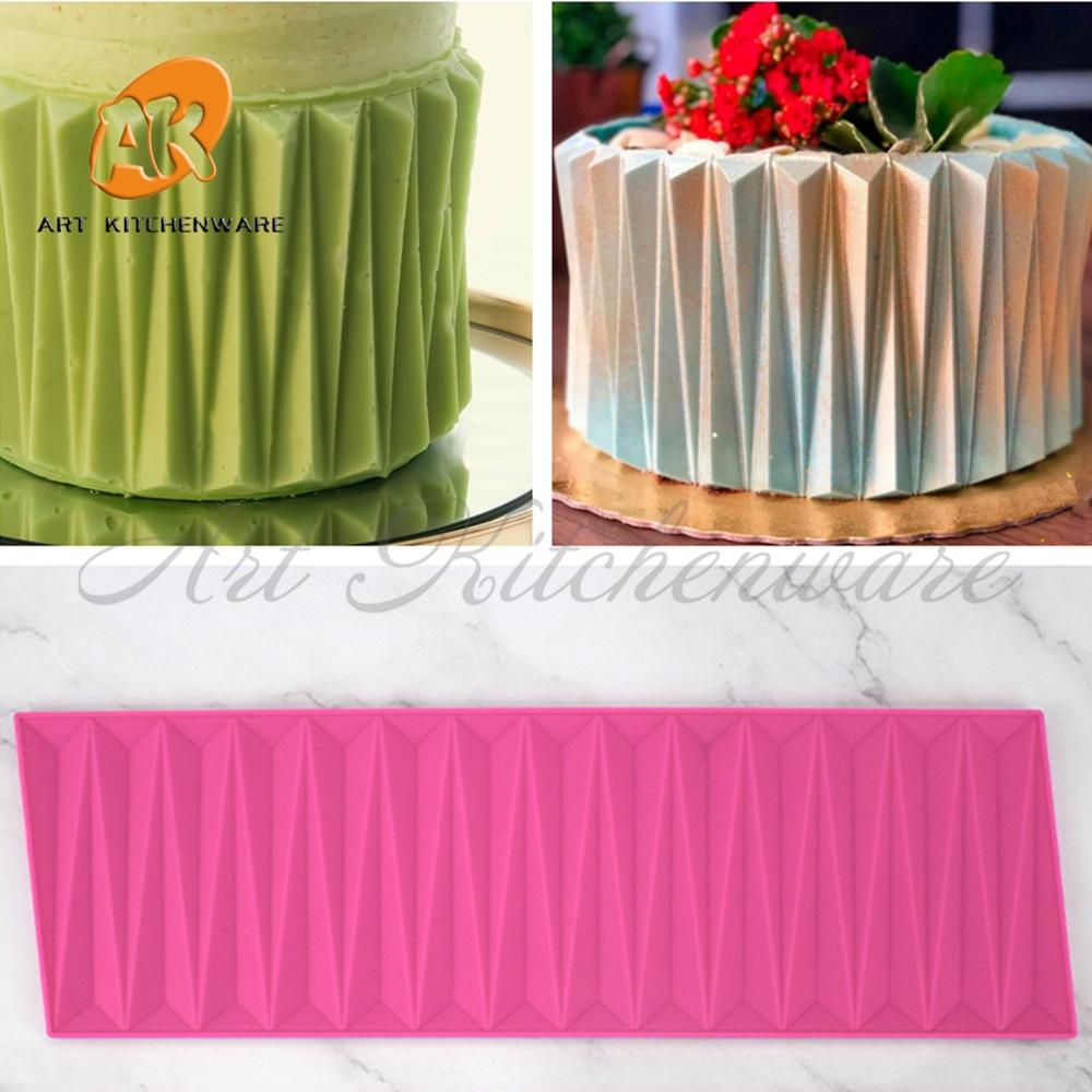 Силиконовая форма для оригами, кружевной коврик, «сделай сам», форма для конфет и тортов, инструменты для украшения тортов, Аксессуары для в...