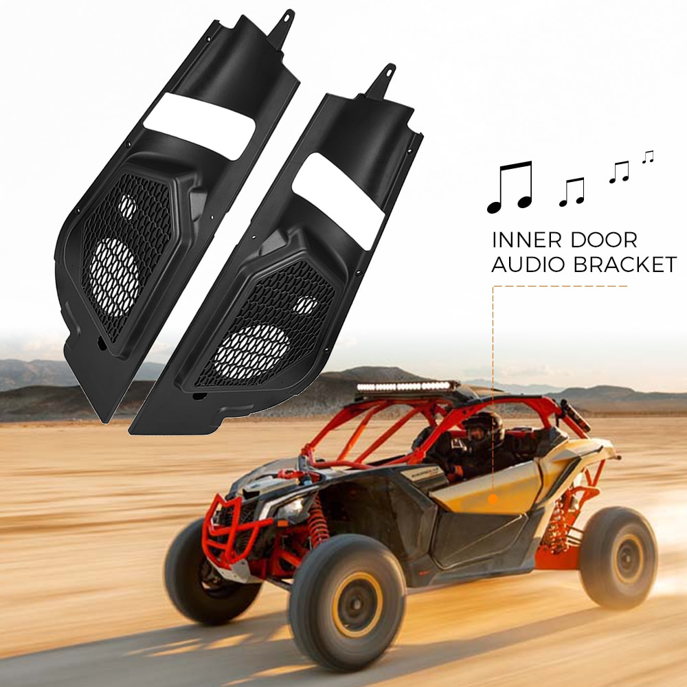 UTV X3 Front and Rear Door Bags and X3 Overhead Roof Storage Bag Compatible with 2017 2018 2019 2020 2021 Can Am Maverick X3 Max RS DS Turbo R RR