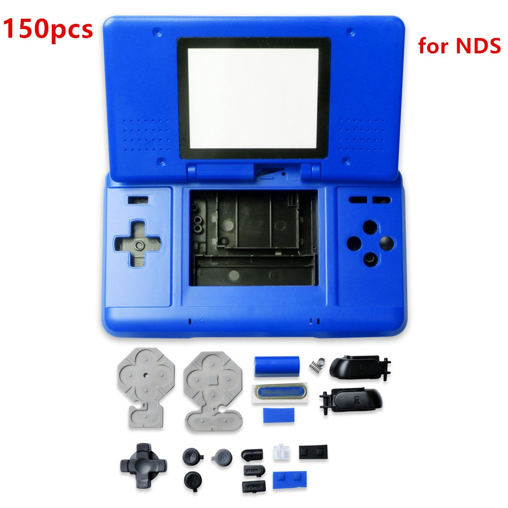 150pcs Housing Shell Case Cover with Buttons For Nintend-DS Game Console Replacement N-D-S Repair Parts