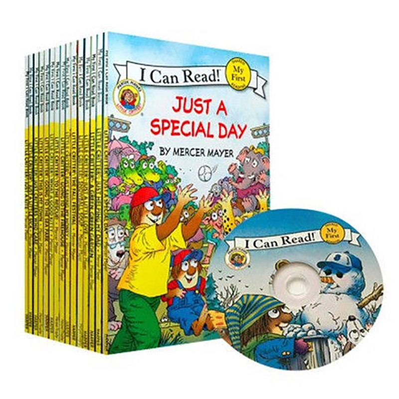 20 Books/Set  i can read Little Critter Children's School English children Early Educaction English picture Stories reading Book