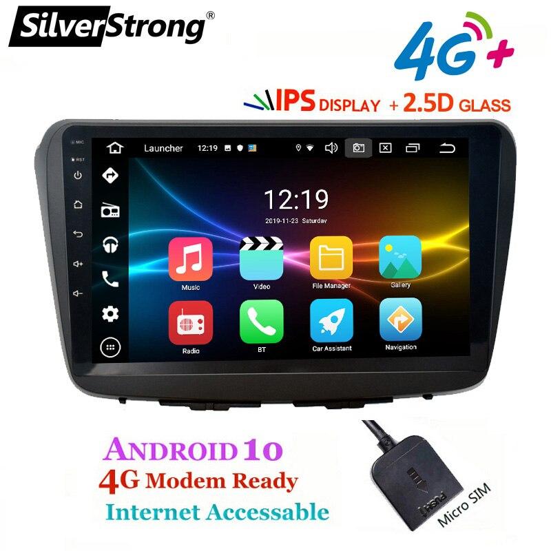 SilverStrong ips 2.5D 9 дюймов Автомобильный музыкальный видео Android10.0 для Suzuki Baleno Maruti Автомобильный MP3 аудио головное устройство gps DSP ips панель