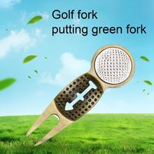 Metal Golf Divot Tool Anti-oxidation Multi-functional Detachable Engraved Ball Marker Golf Pitch For