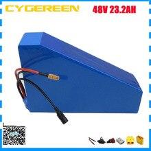 1500W 48V batterie au lithium 48 volts 23AH triangle vélo électrique vélo scooter bateria avec sac gratuit INR18650 29E cellule 40A BMS