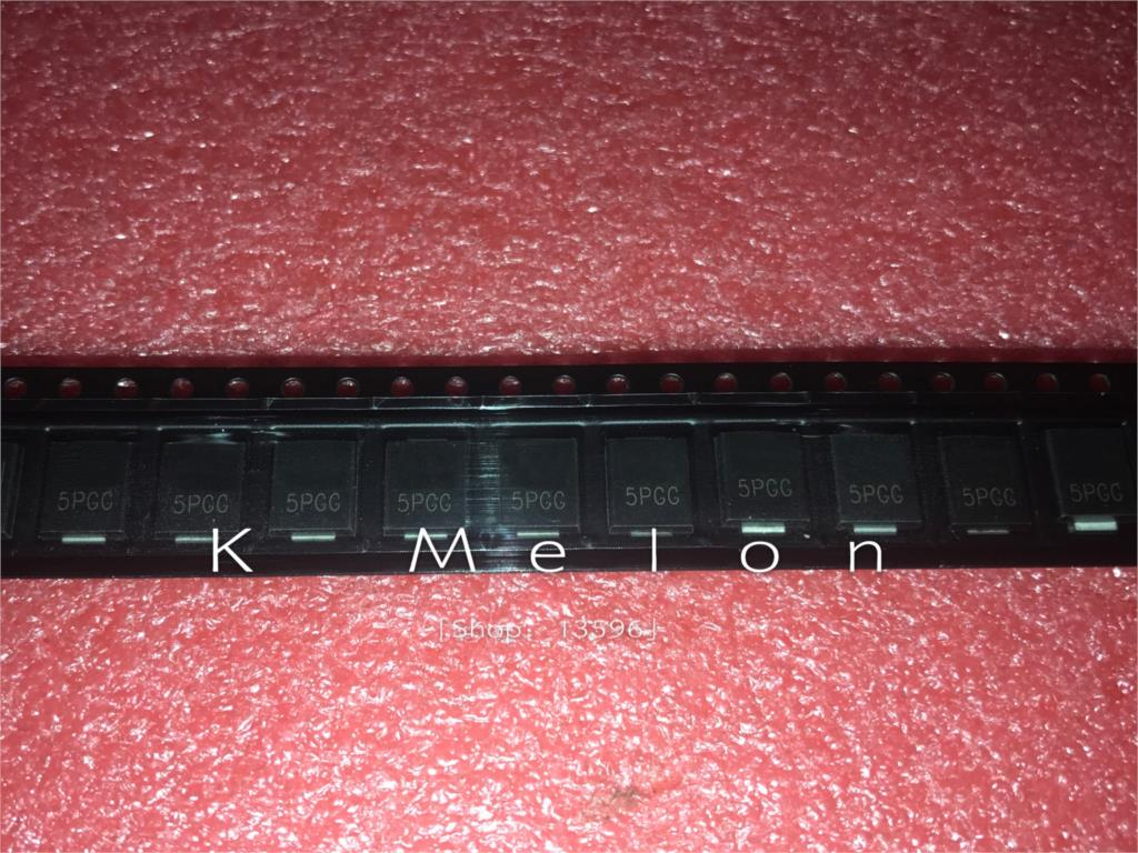 5PCS-20PCS  new original  5.0SMDJ58A MARKING 5PGG TVS 5000W 1mA 58.0V DO-214AB