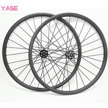 27.5er 탄소 mtb 디스크 바퀴 30x25mm 공감 튜브리스 자전거 27.5 바퀴 세트 NOVATEC D791SB-D792SB 100x15 142x12 기둥 1420