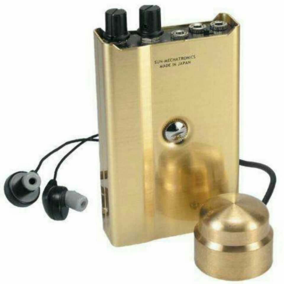 Proker High Strength Wall Microphone Voice Listen Detecotor for Engineer Water Leakage Oil Leaking Hearing DIY F999R