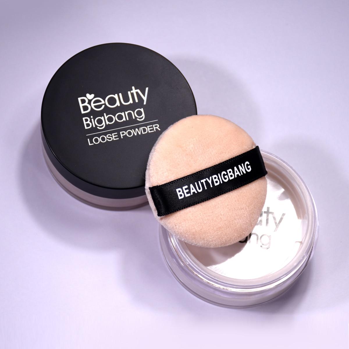 Beauty BigBang 8g polvo suelto 3 colores mate Natural Perfecting translúcido cara polvo contorno inferior maquillaje Maquiagem