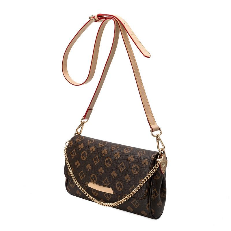 2020 louis Women Shoulder Bag with Chain Print Bag luxury Designer Crossbody Bags Luxury Brand Purses and Handbags high Quality