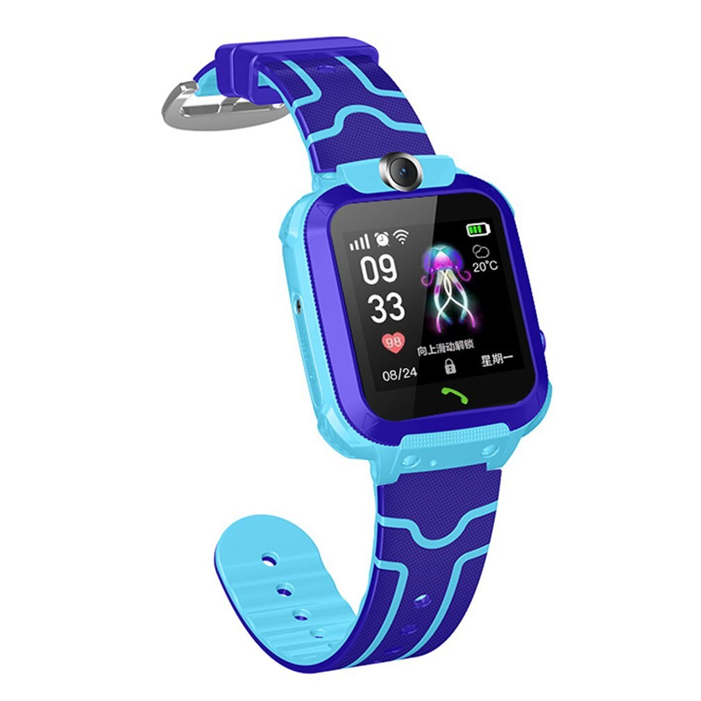 Q12 Waterproof 4G Smart Watch for Kids LBS Tracker Child SOS Call Anti Lost Baby Watch Children Phone Watches for Boy girls