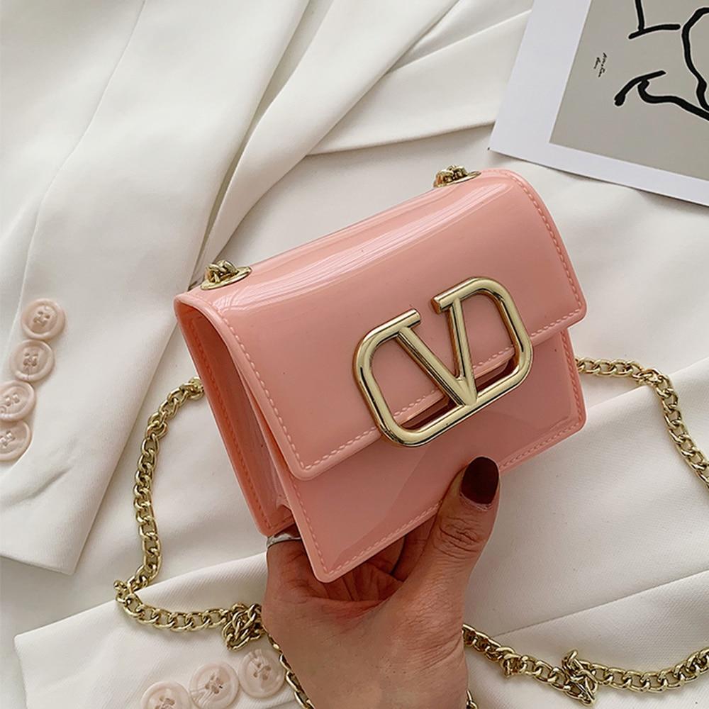 Luxury Handbags Women Bags Designer for 2020 Women Chain Shoulder Crossbody Bags Fashion Mini Messenger Bag Feminina Square Pack