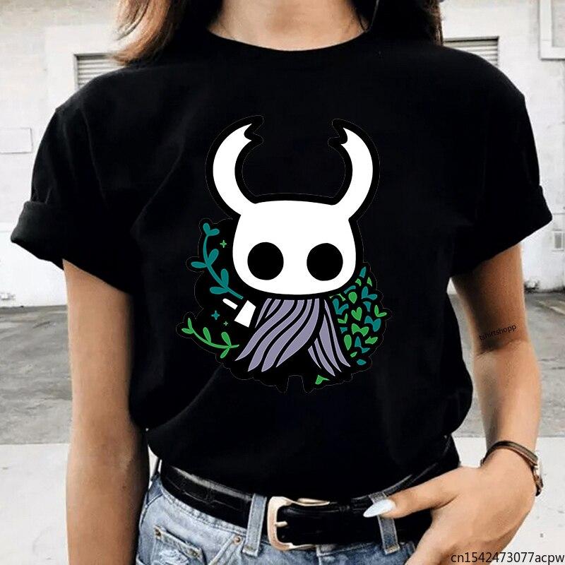 Женские футболки с изображением рыцаря с вырезами, женские футболки с рисунком в стиле Харадзюку, милые футболки