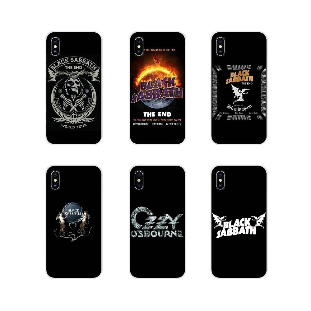 Para Huawei Nova 2 3 2i 3i Y6 Y7 Y9 primer Pro GR3 GR5 2017, 2018 de 2019 Y5II Y6II rock banda Ozzy Osbourne funda de piel transparente TPU