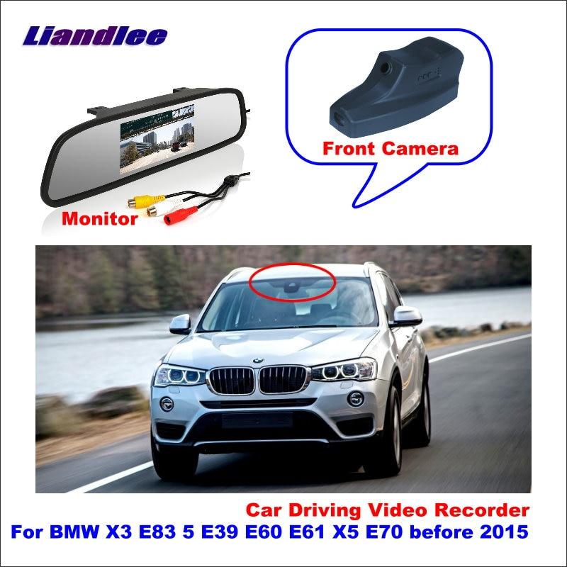 Liandlee Car Road Record WiFi DVR Dash Camera Driving Video Recorder For BMW X3 E83 5 E39 E60 E61 X5 E70 before 2015