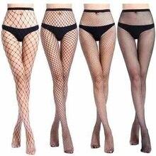 Donne SEXY a vita alta calze a rete calza a rete club Calzamaglia panty di lavoro a maglia netto collant pantaloni della maglia della biancheria tt016 1 pz/lotto