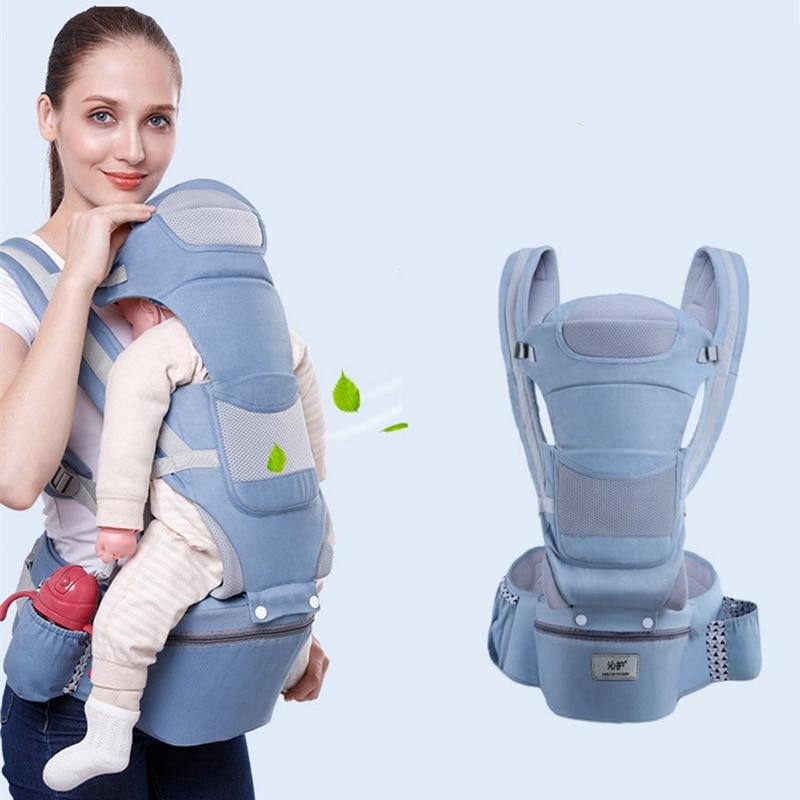 Ergonomic Baby Backpacks Carrier Cushion Front Sitting Kangaroo Baby Wrap Sling Travel Multifunction Infant 0-48M baby bags