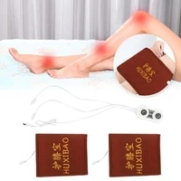 unisex electric knee pads herbal moxibustion pain relief thickening waist hot compress nursing cashmere shoulder neck knee pads