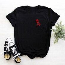 Les gens sont Poison Rose imprimer femmes hommes t-shirts Tumblr inspiré esthétique Pastel pâle Grunge esthétique graphique chemise