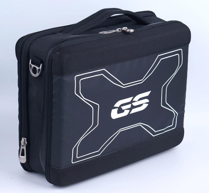 R1200GS F700 F800 GS R 1200 GS Caja de Herramientas lateral telescópica asiento trasero bolsa de sillín maletas equipaje para BMW F750GS F850GS