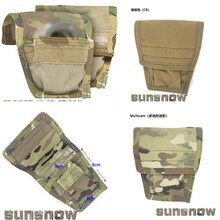 Outdoor Sports Tactics 2-layer Sundries Contract Tools Bag Imported Cordura Fabric