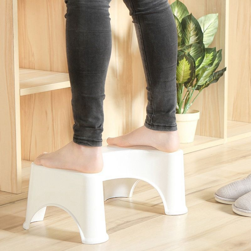 Venda quente U-Em Forma de Vaso Sanitário Agachamento Fezes Assistente Anti-Slip Mat Banheiro Almofada Do Pé Para A Constipação da Pilha