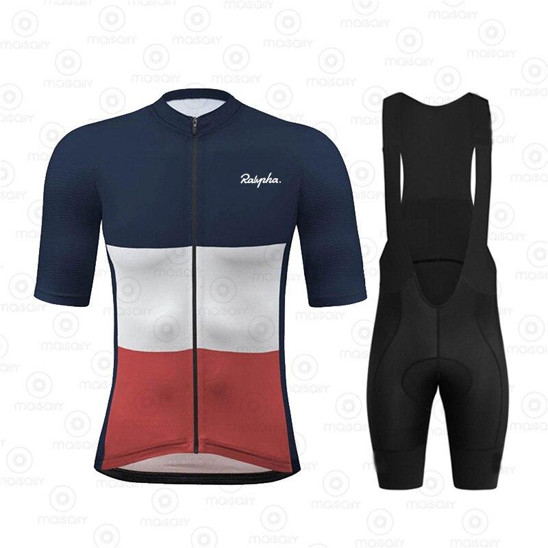 Traje de ciclismo 2020, camisetas de bicicleta de equipo, ropa de bicicleta corta, Jersey de manga corta, conjunto de verano, Tops, chaqueta, pantalones cortos, Kit de ropa Maillot